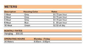 kalamazoo downtown kalamazoo monthly parking rates