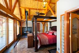 Timber Frame Bed Nautical Design Home Timber Frame Residential Project Photo Gallery