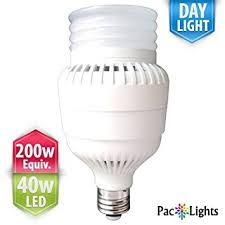 250 watt equivalent led light bulbs 100 120v only residential version paclights ultra200 performance