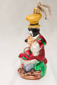 disney goofy christmas ornament christopher radko 1996 a goofy