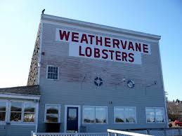 Maine Weathervanes Weathervane Lobsters Old Ice House Mapio Net
