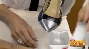 designer shoe outlet diy metallic cap toe shoe tutorial how to make your own designer