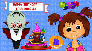 happy birthday song halloween song baby dracula original