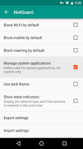 use a firewall keep data hungry apps in check android
