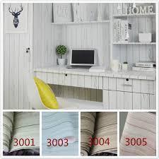 Waterproof Wallpaper For Bathrooms Self Adhesive Wood Grain Wallpaper Peel U0026stick Oil Waterproof Pvc