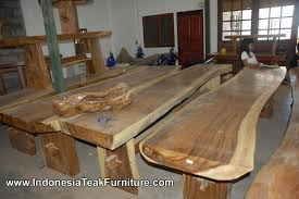 hardwood dining table furniture from indonesia solid wood dining
