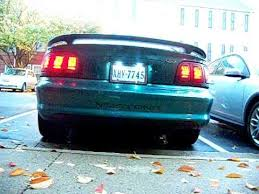 96 98 mustang tail lights sequential taillights 97 mustang youtube