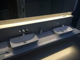 bathroom fresh bathroom strip light fixtures decor color ideas
