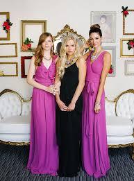 joanna august bridesmaid glamorous modern bridesmaid looks from joanna august weddbook