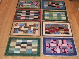 scrappy quilted placemats louisa enright s