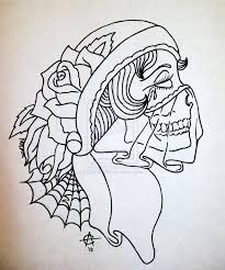 gypsy woman sugar skull tattoo design tattoos book 65 000