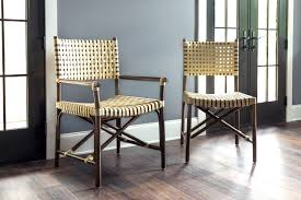 dining room yellow braid rattan dining chairs for minimalist