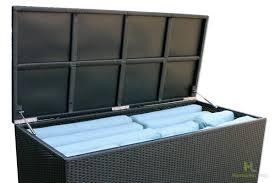 Patio Storage Chest by Urbana Cushion Storage Box Harmonia Living Hl Urbn Csb Patio