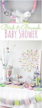 bird baby shower bird and branch baby shower