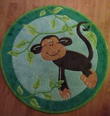 Monkey Rug For Nursery Jungle Themed Rugs For Nursery Roselawnlutheran