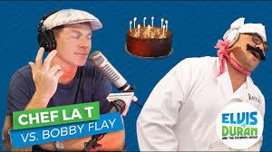 thanksgiving with bobby bobby flay and chef la t celebrate elvis u0027 birthday elvis duran