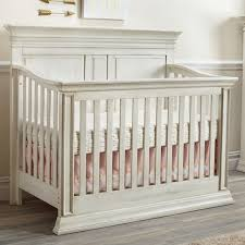 Convertible White Crib Baby Cache Vienna 4 In 1 Convertible Crib Antique White Babies