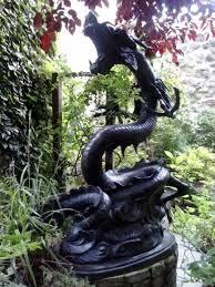garden statue garden statues and dragons
