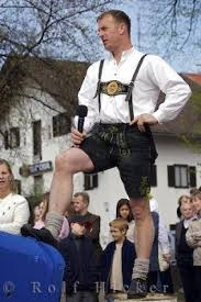 bavarian costume photo information