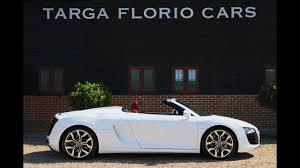 audi r8 automatic audi r8 spyder 5 2 v10 quattro automatic in ibis white with