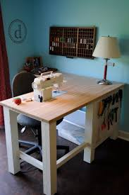 Diy Sewing Desk 14 Best Diy Sewing Table Images On Pinterest Sewing Tables