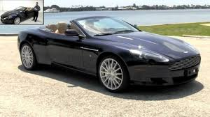 custom aston martin vanquish 2007 aston martin db9 volante convertible midnight blue metallic