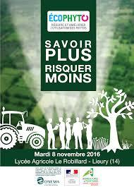 chambre d agriculture normandie colloque régional ecophyto savoir plus risquer moins draaf
