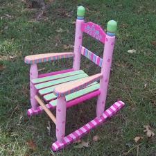 Small Rocking Chairs Simple Little Rocking Chair On Small Home Remodel Ideas S711