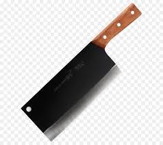 wooden handle kitchen knives utility knife kitchen knife blade wood handle machete png