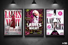 ladies night flyer bundle v3 that u0027s design store