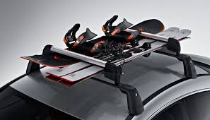 porta snowboard auto portasci e porta snowboard comfort trasporto sul tetto per classe