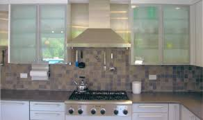 Modern Glass Kitchen Cabinets Ideal Make Kitchen Cabinet Doors With Glass Greenvirals Style