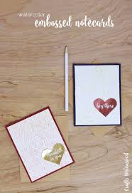 paper greeting cards diy greeting cards watercolor embossed cards consumer crafts