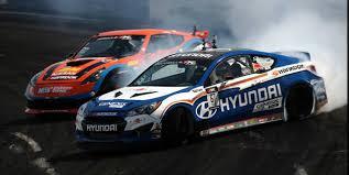 hyundai genesis drift nissan 350z turbo vs hyundai genesis coupe drifting