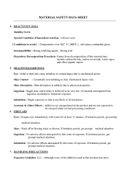 Pr Resume 100 Msds Templates 100 Mou Template Canada International