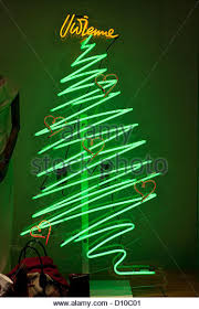 Neon Christmas Window Decorations by Neon Christmas Tree Stock Photos U0026 Neon Christmas Tree Stock
