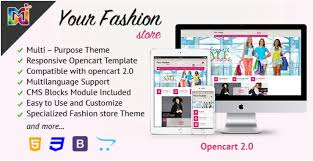 50 best opencart fashion themes 2017