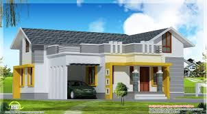 perfect new house design single plan kerala style intended ideas