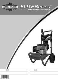 briggs u0026 stratton pressure washer 20250 user guide manualsonline com