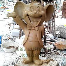 sculpture tom and jerry mouse model of large