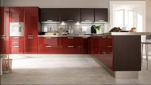 Compare Prices On High Gloss Kitchen Cabinets Online ShoppingBuy - Red lacquer kitchen cabinets