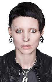 Lisbeth Salander From The With Rooney Mara As Lisbeth Salander The With The