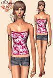 Liana Sims 2 Preview Women S Clothing Swimwear Liana Sims 2 Preview Women U0027s Clothing Casual Ts2bohemian