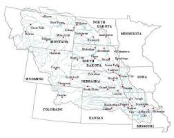map of missouri river the big muddy america s river missouri river water trail
