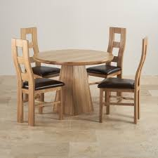 Extendable Dining Table And 4 Chairs Solid Oak Dining Room Chairs Duluthhomeloan