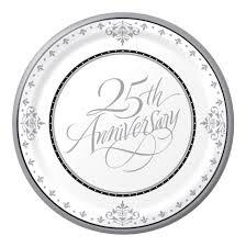25th wedding anniversary plate 25th wedding anniversary poems wedding ideas