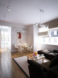 Young Couple Room Modern Red Apartment For A Young Couple Visualized