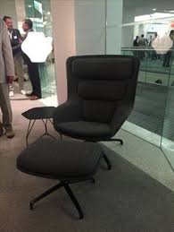 Herman Miller Lounge Chair And Ottoman by Sandler Seating Cocoon Lounge Chair Events Neocon 2016