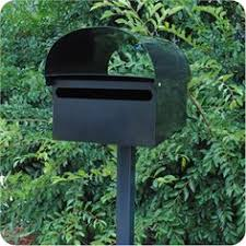 letterbox sandleford the vault black wmb03 bunnings warehouse