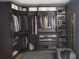 closet u0026 storage luxury design of dark varnished wood walk in